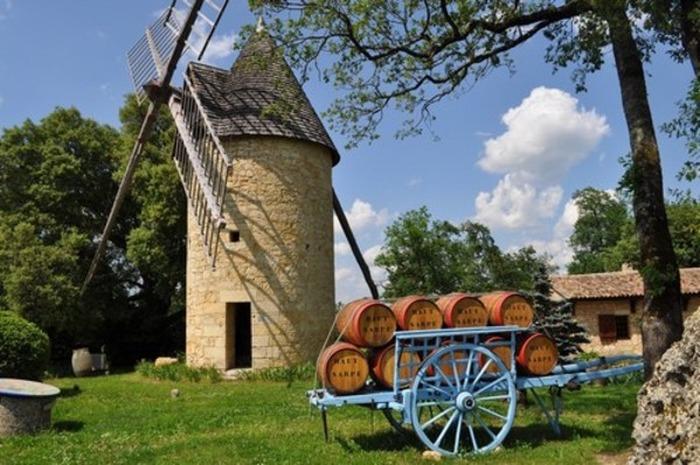 Crédits image : © Moulin du Château Haut-Sarpe
