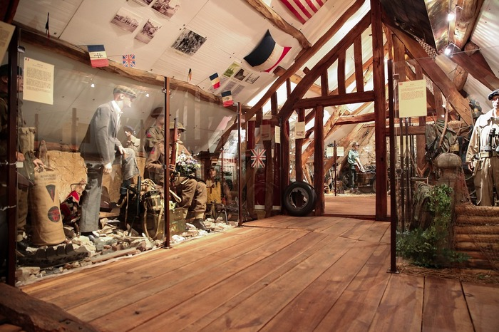 Journées du patrimoine 2018 - Visite libre du Musée Août 44 :