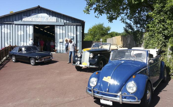 Journées du patrimoine 2018 - Visite libre du musée de l'automobile de Bellenaves