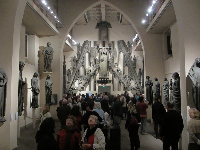 Crédits image : Salle du jubé, Musée de l'Oeuvre Notre-Dame, photo: Mathieu Bertola