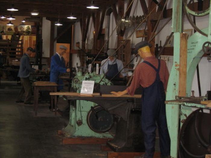Journées du patrimoine 2018 - Visite libre du musée de la machine à bois