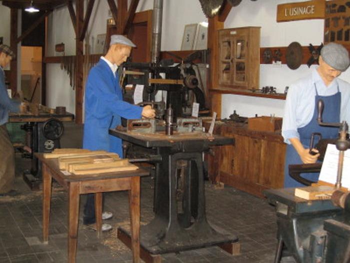Journées du patrimoine 2018 - Visite libre du musée de la machine à bois.
