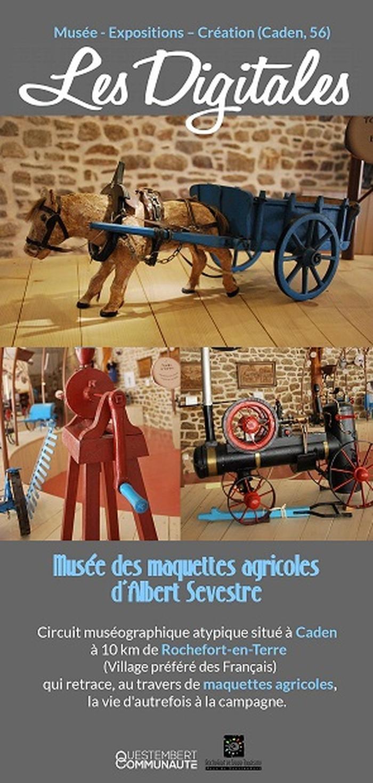 Journées du patrimoine 2018 - Visite libre du Musée des maquettes agricoles de Monsieur Sevestre