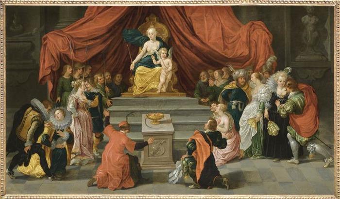 Crédits image : Hommage à Vénus, De Vos, RMN/Benoit Touchard