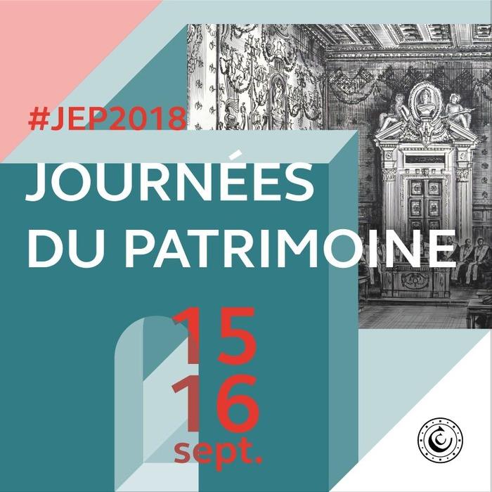 Journées du patrimoine 2018 - La Cour des Comptes vous ouvre ses portes