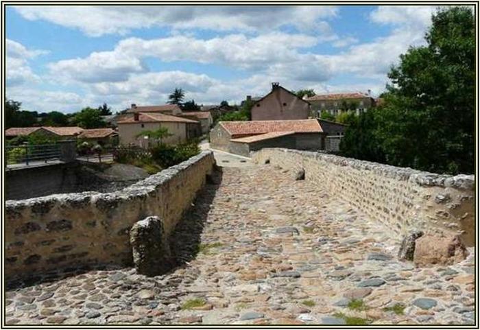 Journées du patrimoine 2018 - Visite libre du Pont de Saint-Généroux