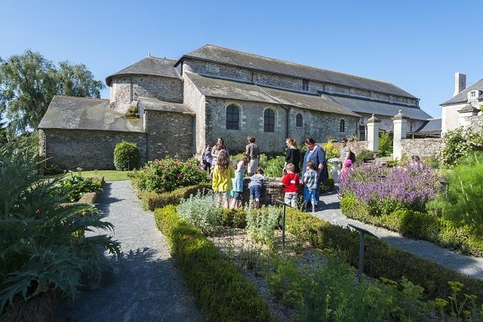 Journées du patrimoine 2018 - Visite libre du Site de l'abbatiale - Déas