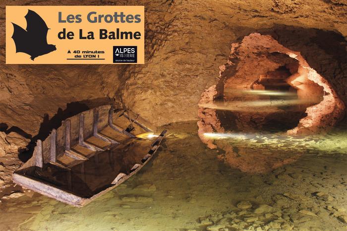 Journées du patrimoine 2018 - Visite libre des Grottes de La Balme.
