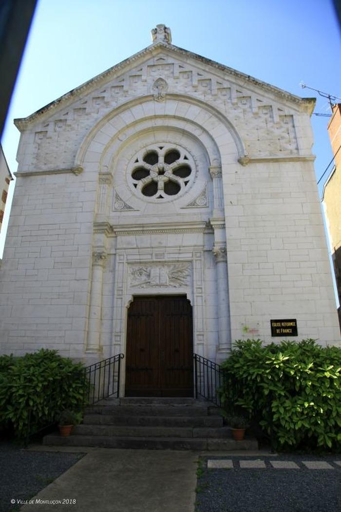 Journées du patrimoine 2018 - Visite libre du temple protestant de Montluçon.