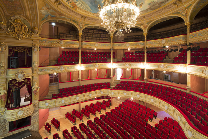 Visite libre du Théâtre Molière-Sète