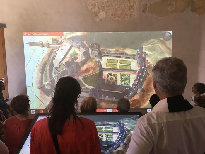 Journées du patrimoine 2019 - Visites libres et dispositif multimédia au château de Châteaubriant