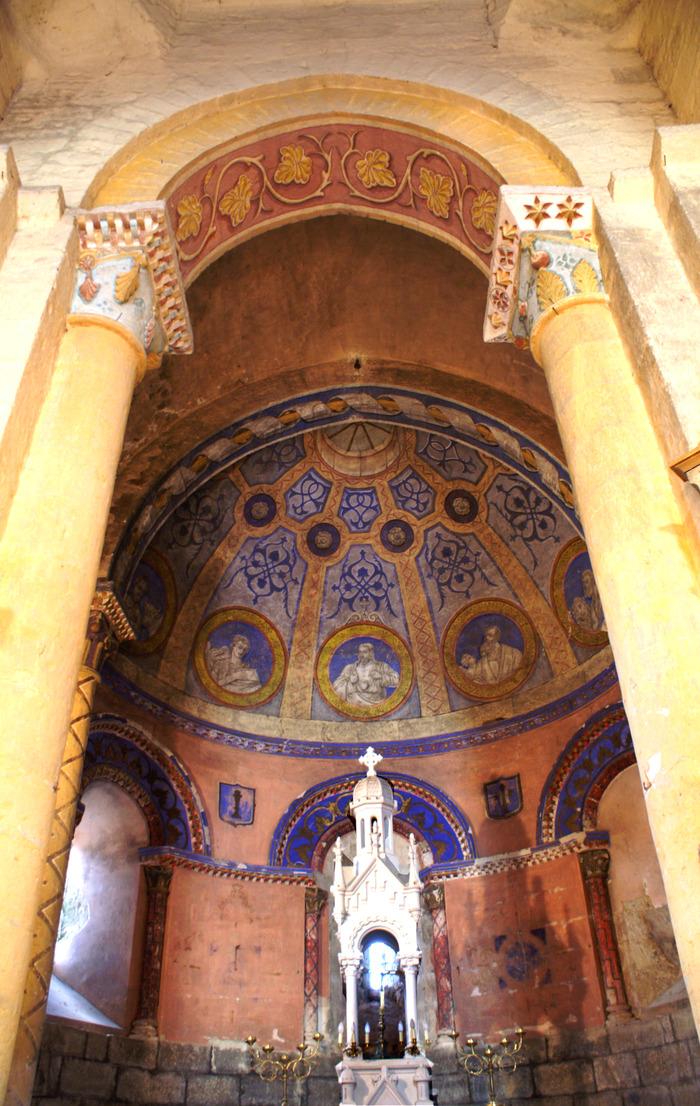 Journées du patrimoine 2018 - Visite libre de l'église romane du XIIIe siècle classée aux Monuments Historiques