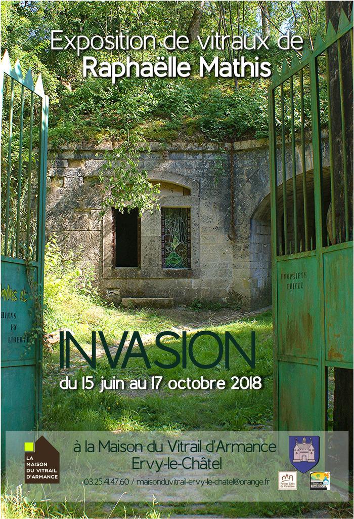 Journées du patrimoine 2018 - Visite libre et gratuite de l'exposition «INVASION»