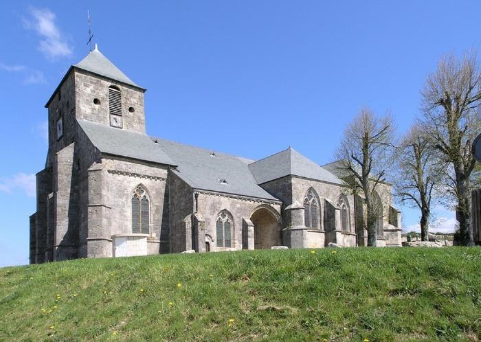 Journées du patrimoine 2018 - Visite libre et visite guidée sur demande de l'église de Dun-Haut
