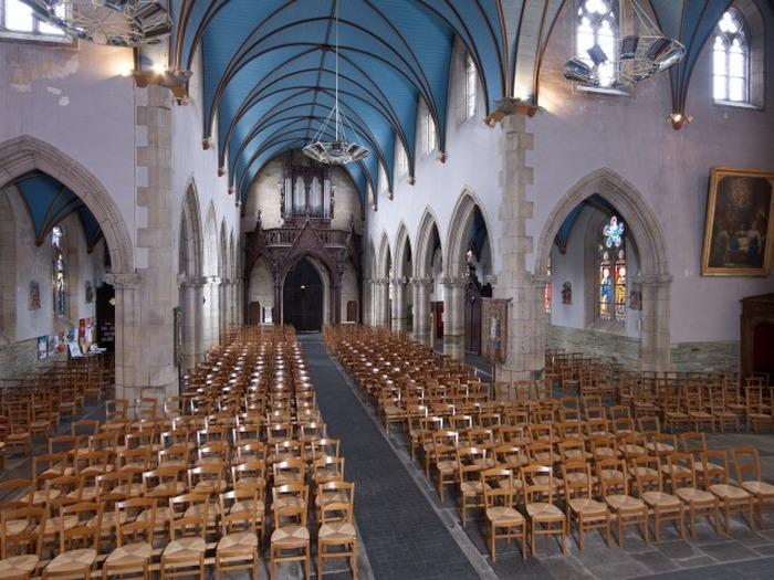 Journées du patrimoine 2018 - Visite libre, montée au clocher, concert de la chorale de l'Aulne