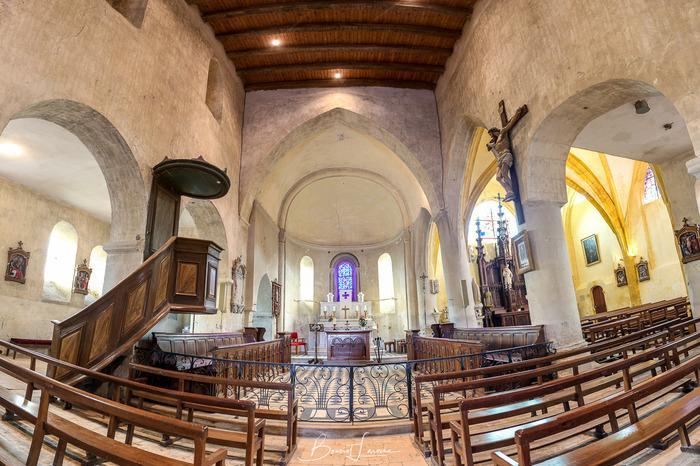 Journées du patrimoine 2018 - Visite libre ou accompagnée de l'église Saint-Martin.
