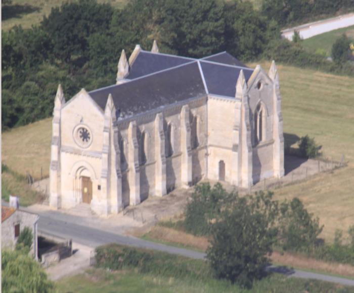 Journées du patrimoine 2018 - Visite libre ou guidée de cette chapelle dédiée à Sainte-Macrine, la patronne du Marais Poitevin.