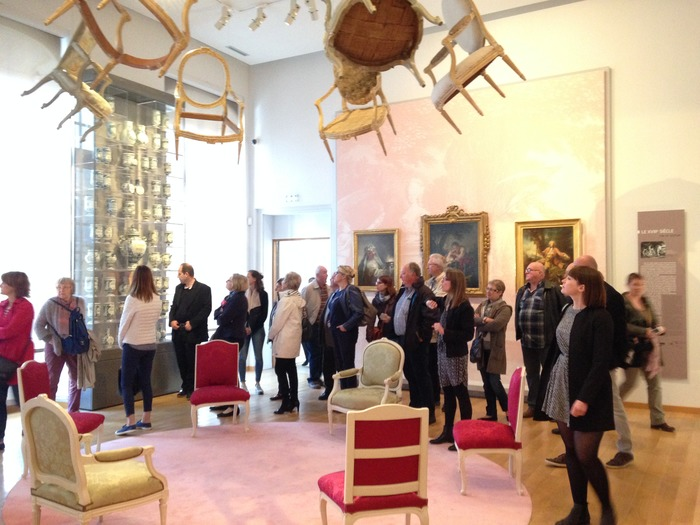 Journées du patrimoine 2018 - Visite guidée du MAHB, Musée d'Art et d'Histoire Baron Gérard