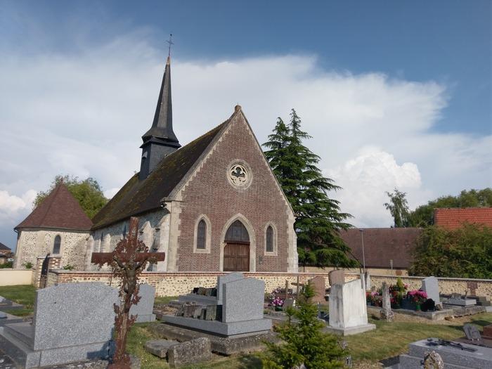 Journées du patrimoine 2018 - Visite libre de l'église Sainte-Colombe d'Irreville