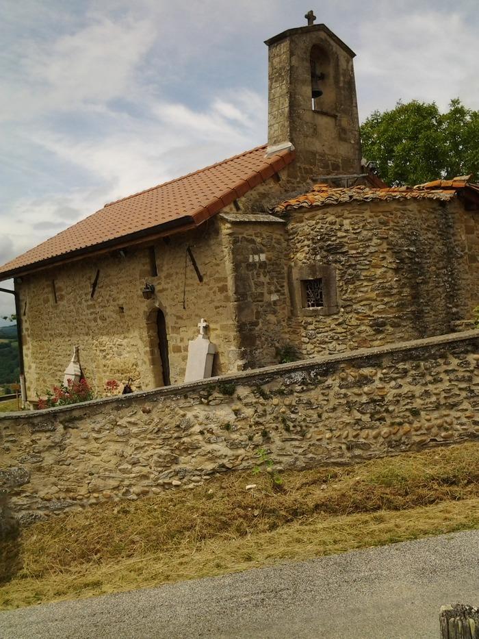 Journées du patrimoine 2018 - Visite libre de la chapelle rurale Saint-Roch.