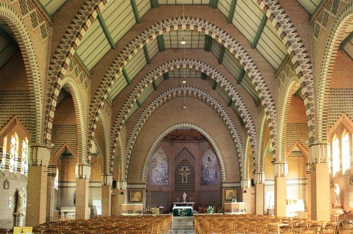 Crédits image : Intérieur de l'église Notre-Dame-des-Trévois - Photographie : Carole Bell, Ville de Troyes