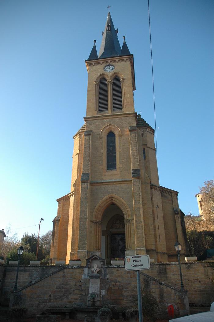 Journées du patrimoine 2018 - Visite libre de l'église de Jarnioux.