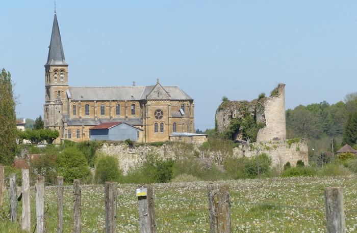 Journées du patrimoine 2018 - Visite libre de l'église Saint-Martin et des ruines du château fort