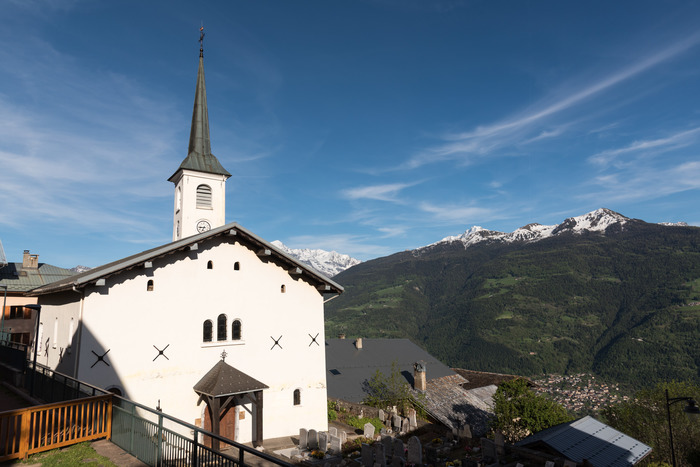Journées du patrimoine 2018 - Visite libre de l'église baroque de Granier.