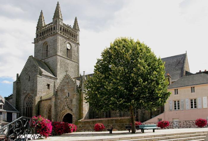 Journées du patrimoine 2018 - Visite libre clocher de l'église Notre-Dame de l'Assomption  - Quimperlé