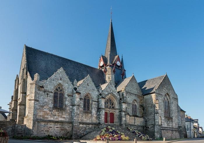 Journées du patrimoine 2018 - Visite libre - Eglise Saint Pierre - Sérent