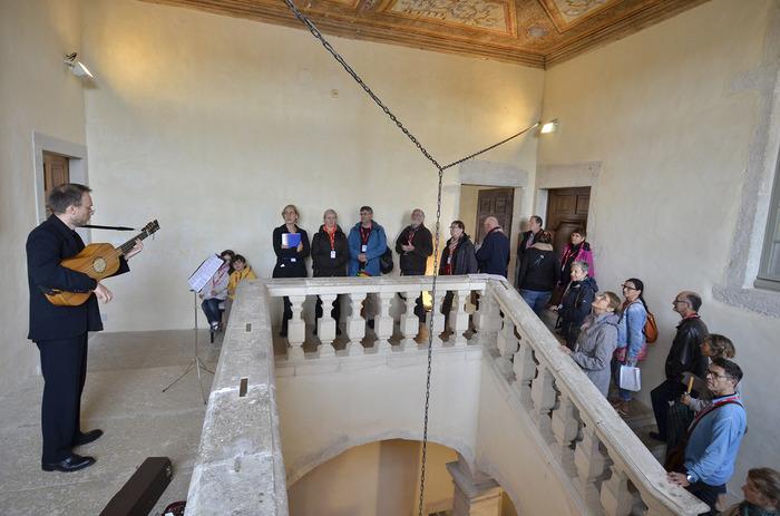 Journées du patrimoine 2018 - Visite musicale de l'abbaye d'Ambronay.