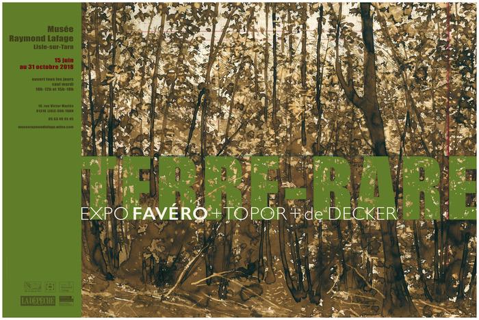 Journées du patrimoine 2018 - Visite guidée nocturne de l'exposition Favéro