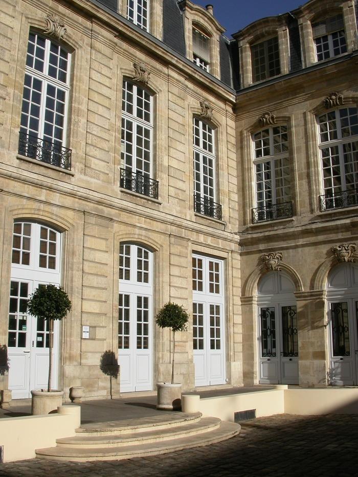 Journées du patrimoine 2018 - Visite partielle de l'hôtel Leberthon - Crédit Municipal de Bordeaux
