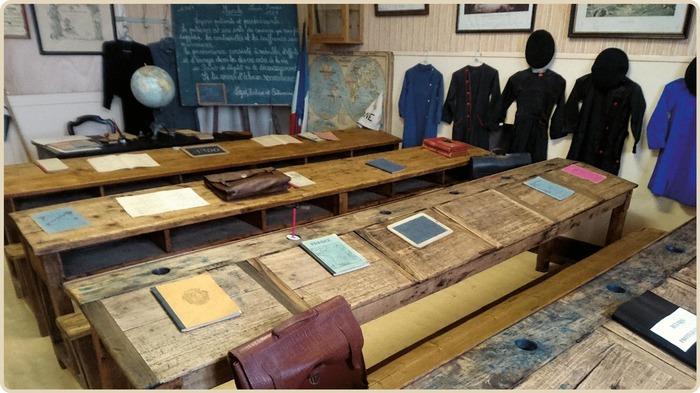 Journées du patrimoine 2017 - Visite libre des salles de classe 1920-1960