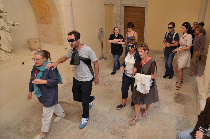 Journées du patrimoine 2018 - Visite sensorielle de l'abbaye d'Ambronay.
