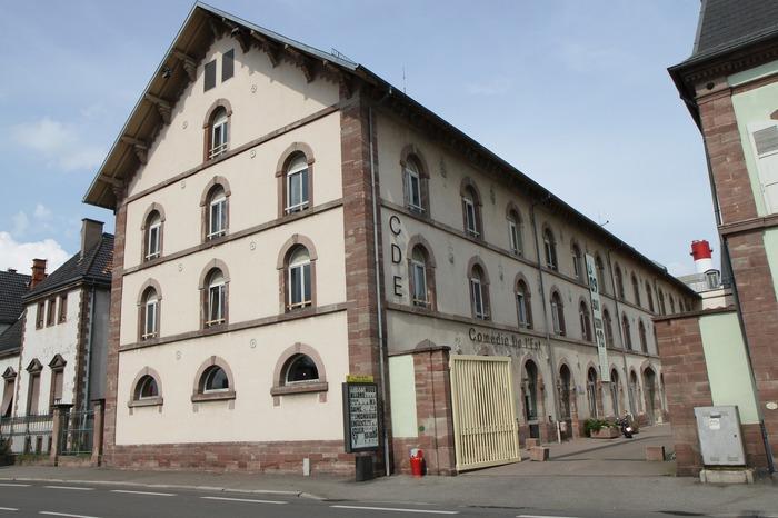 Journées du patrimoine 2018 - Visite théâtrale du Centre dramatique national d'Alsace.