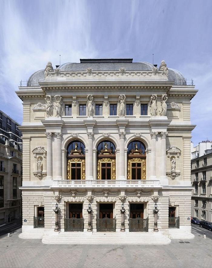 Journées du patrimoine 2018 - Visite verticale de l'Opéra Comique