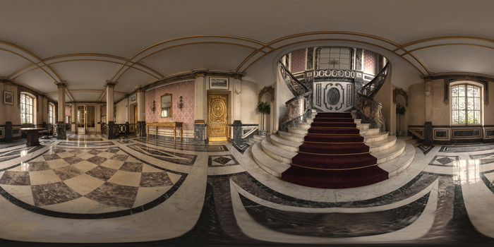 Journées du patrimoine 2018 - Visite virtuelle 360° du Consulat général d'Italie à Paris