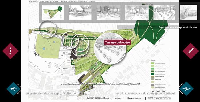 Journées du patrimoine 2018 - Visite virtuelle : Le Parc Buffon, architecte du temps et de la nature, accessible sur la borne numérique au musée ou sur notre site
