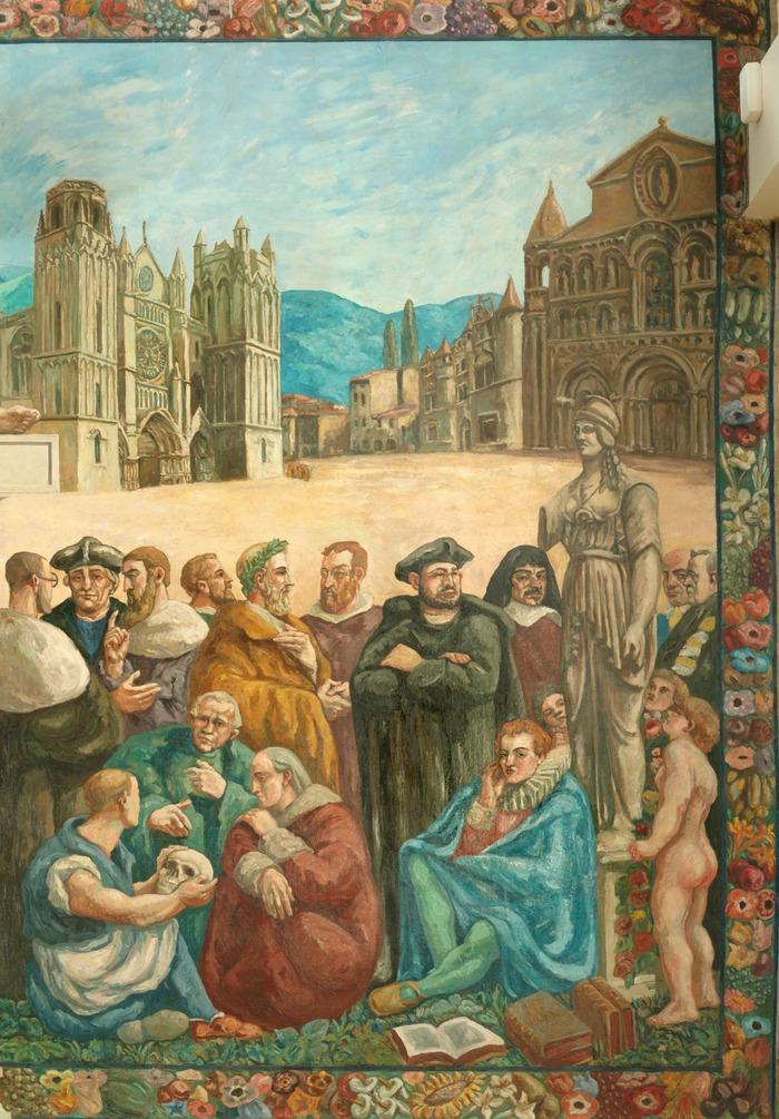 Journées du patrimoine 2017 - Visites commentées à la Faculté de Droit et sciences sociales de l'Université de Poitiers