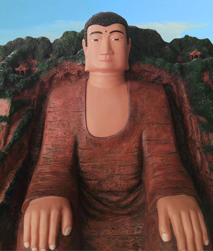 Journées du patrimoine 2017 - Visites commentées d'une réplique réduite du Bouddha de Leshan