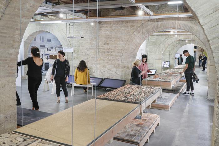 visites commentées de l'exposition Wang Shu, Lu Wenyu