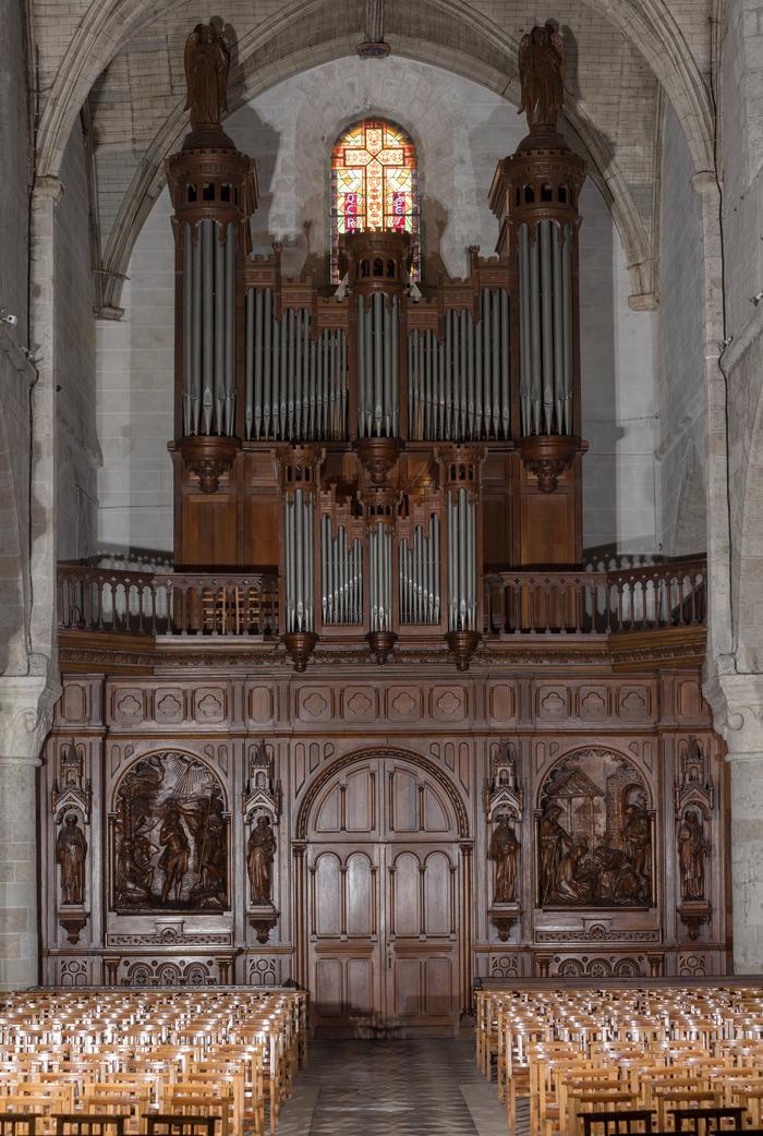 Journées du patrimoine 2018 - Visites commentées de l'orgue de tribune