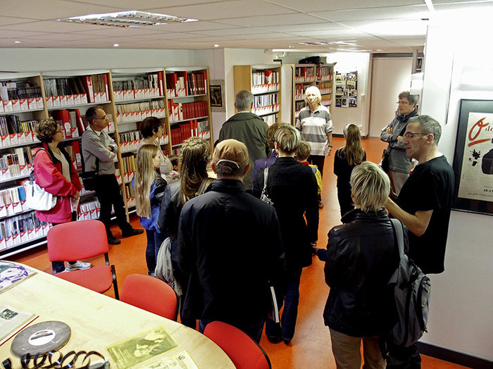 Journées du patrimoine 2019 - Visites commentées de la bibliothèque