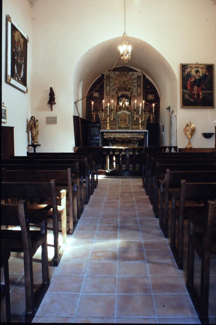 Journées du patrimoine 2018 - Visites commentées de la chapelle des Angonnes.