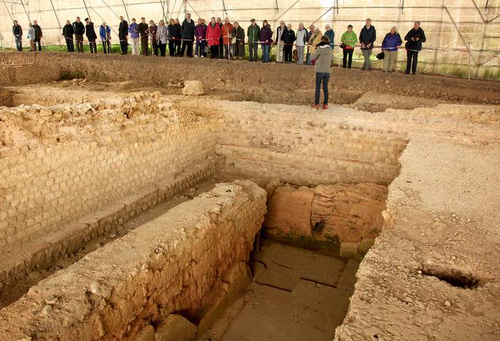 Journées du patrimoine 2018 - Visite guidée du chantier de fouilles du forum