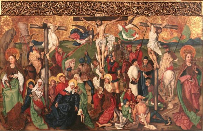 Journées du patrimoine 2018 - Visites commentées du triptyque de Buhl daté de la fin du XVe siècle et attribué à l'école de Martin Schongauer