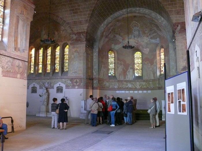 Journées du patrimoine 2018 - Visite guidée de la chapelle Sainte-Anne