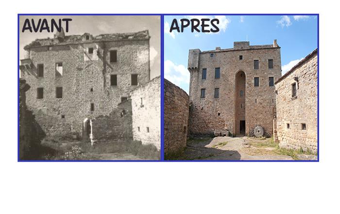 Crédits image : château de Montaigut