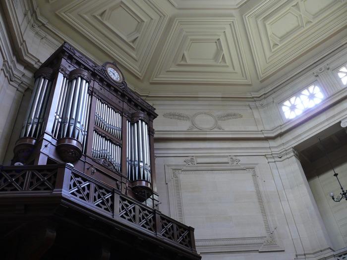 Journées du patrimoine 2017 - Visite commentée de l'orgue et des harmoniums du temple protestant du Saint Esprit